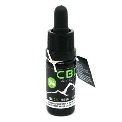 CBD konopljine kapljice